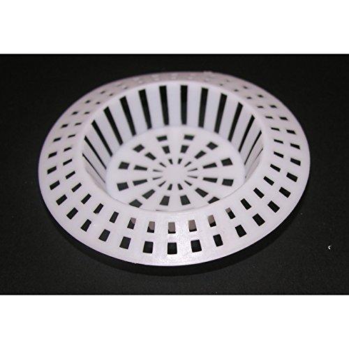 Abflusssieb Spülbecken Haarsieb Waschbecken Ablauf Sieb Kunststoff 70mm