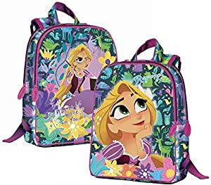 CORIEX d97355Rapunzel Medium Backpack reversibile, Mehrfarben