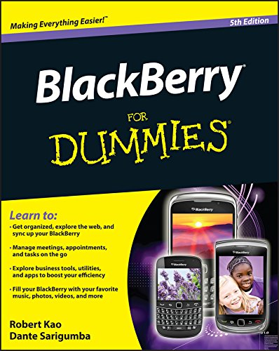 BlackBerry For Dummies (For Dummies Series)