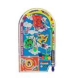 Novità giochi di partito del giocattolo del flipper di Space Race Pin Tirare indietro il regalo della mini macchina di Pinball (Colore: Casuale)
