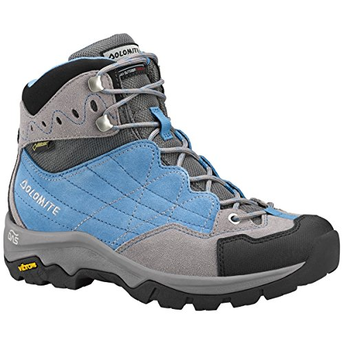 DOLOMITE FAIRFIELD GTX BOOTS FOR TREKKING SCOUT VIBRAM Sky Blue/Pewter