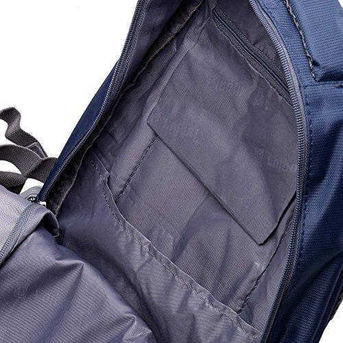Leefrei Schulrucksack Schulranzen Schultasche Sports Rucksack Freizeitrucksack Daypacks Backpack für Mädchen Jungen & Kinder Damen Herren Jugendliche mit der Großen Kapazität (Vintag-Blau2) - 4