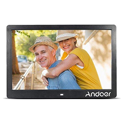 """Andoer 13 """"TFT-LCD-Digital-Foto-Bilderrahmen Hohe Auflösung 1280 * 800 Werbung Maschine MP3 MP4 Video-Player-Wecker mit Fernbedienung Geschenk-Geschenk"""