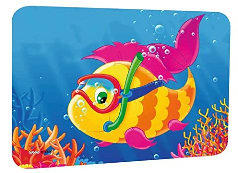 Pare-soleil autocollant pour les caravanes et autoscheibe-motif: poisson-dimensions: 44 x 32 cm-adhésive - Pesci Asciutti