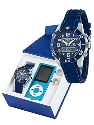 Reloj marea niño b35280/4 analogico digital con reproductor MP4