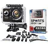 Multifonction Action Camera - SAVFY - Caméra sport / Caméra embarquée étanche 30M...