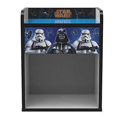 Stor comodino infantile | star wars classic | mobili disney - dimensioni: 40cm x 50,5cm x 30cm - vari personaggi
