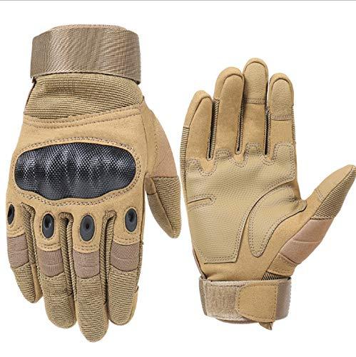 Guantes para motocicleta con todos los dedos