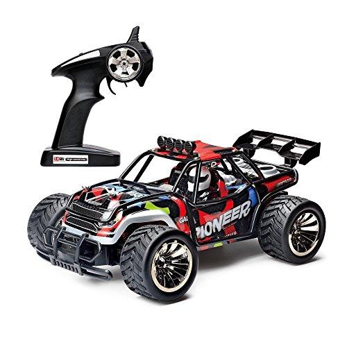 Ferngesteuertes Auto, 2WD 1:16 2.4Ghz RC Racing Buggy Auto, Hochgeschwindigkeit RC Off Road Fahrzeug Bestes Geburtstags Weihnachtsfest Geschenk für Jungen & Mädchen und Kinder (Autos Autos Autos)