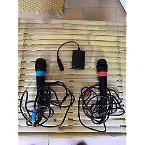 SingStar Original USB – Mikrofone im Doppelpack für PlayStation 2, 3 und 4