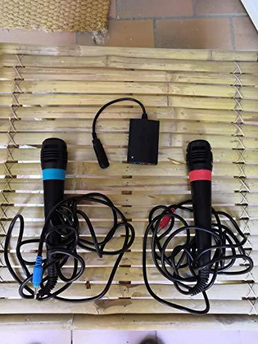 SingStar Original USB - Mikrofone im Doppelpack für PlayStation 2, 3 und 4
