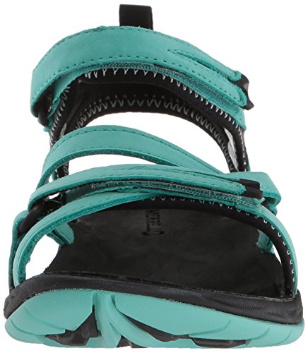 Merrell Siren Strap Q2, Sandales Bout Ouvert Femme Turquoise