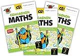 Compagnon Maths CE1 - Fichiers de l'élève [Lot de 3]