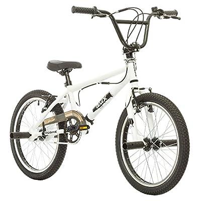 Multibrand Distribution Probike, BMX Extreme 20 Zoll, Freestyle Bike, BMX, 360° Rotor-System, 4 Stahl Pegs, Kettenschutz, Freilauf