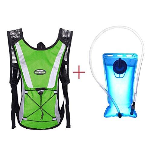 Hydration Vejiga, Lanowo 2L Senderismo Hidratación Bolsa de la Vejiga