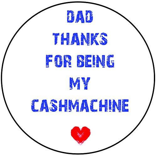 My cashmachine- Funny, Cheeky vorgeschnittenen Rund 20,3cm (20cm) Zuckerguss Kuchen Topper Dekoration (Ideen Halloween Decoracion)