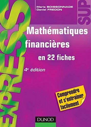 Mathmatiques financires - 4e d. : En 22 fiches (Express)