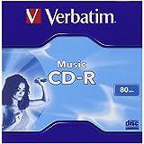 Verbatim 43364 - CD-R vírgen (CD-R, 16x, 12 cm, Caja de joyas), 1 unidad
