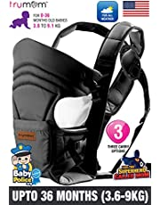 Trumom (USA) 3 in1 Baby Carrier for Kids 0 to 36 Months Old