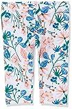 NAME IT Baby-Mädchen Nmfvivian AOP Capri H Leggings, Weiß (Bright White Flowers), (Herstellergröße: 92)