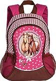 Pferde-Kinderrucksack Rucksack pink von Fabrizio 35 cm
