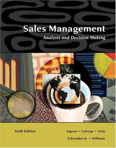 sales management analysis
