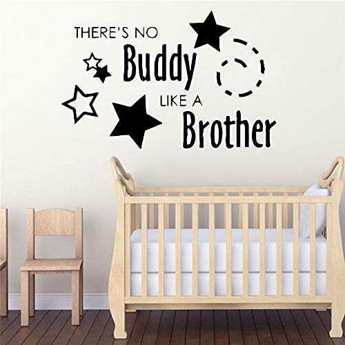 Brüder Patch (NEUE kumpel bruder Wohnkultur Vinyl Wandaufkleber Entfernbare Wandaufkleber Diy Dekoration Zubehör 86 * 132 cm)
