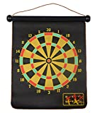 #6: Magnetic Hanging Dart Board Set and Bullseye Game with Darts