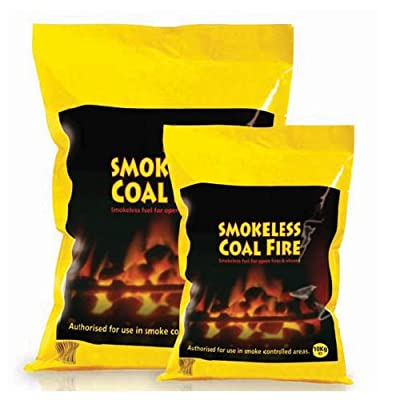 Smokeless Coal Fire For Stoves, Open Fires and Campfires 10kg or 20kg Bag