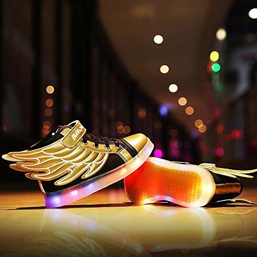Aidonger , Chaussures de course pour garçon Or