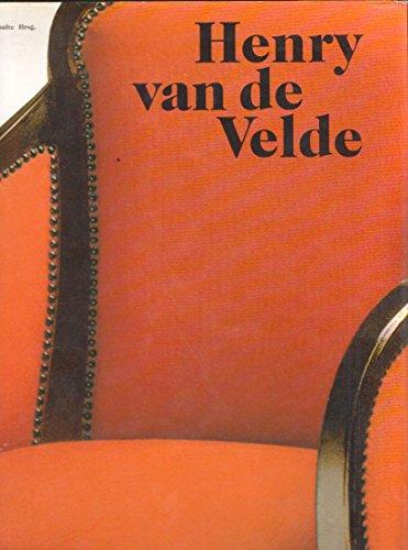 Henry van de Velde. Ein europäischer Künstler seiner Zeit Buch-Cover