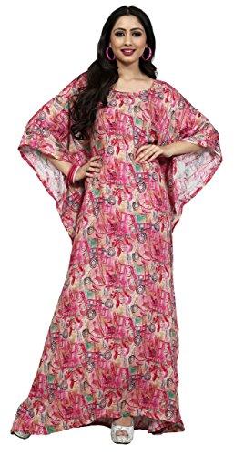 Justkartit High Quality Rayon Soft Cotton Kaftans 2017 / Womens Casual Night Wear Kaftan 2017