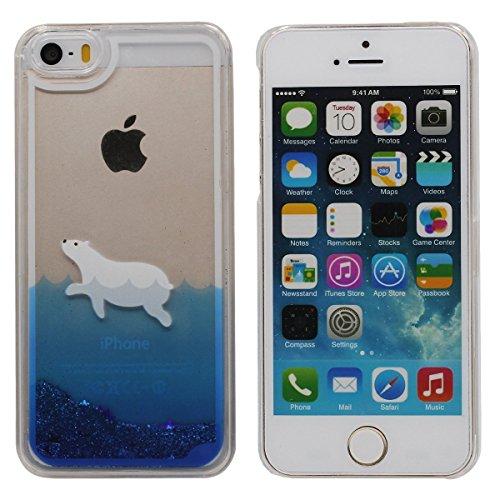iphone-5-5s-coque-la-natation-blanc-ours-motif-coulement-sable-toiles-transparent-liquide-conception