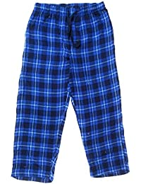 Twist Men's Navy Blue & Light Blue Checked Cotton Pyjama Sleepwear Night Wear