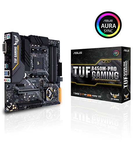 Asus TUF B450M-PRO Gaming AM4 AMD B450 mATX - Placa