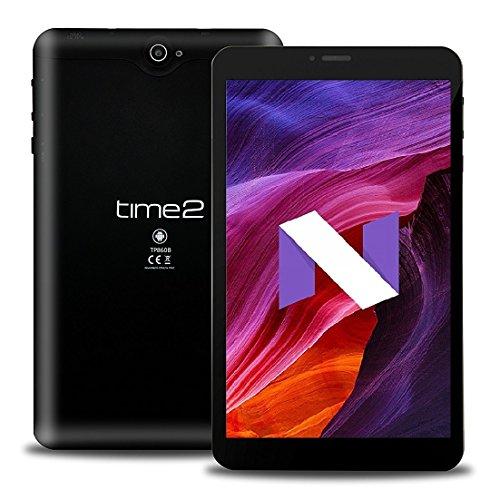 8 Zoll Pellet PC, Android 7.0 Nougat, Phablet 3G Dual SIM Tablet, GPS, IPS Bildschirm 1280x800 WiFi-Tablet, 1GB 16GB RAM Speicher 256GB externen Speicher, Quad Pit [Google Certified] NEU 2018