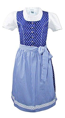 Dirndl Melanie 3-TLG. Blau Gr. 128 ()