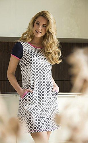 Cherie Line Damen Shirt 5171001 Marine