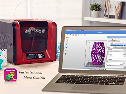 XYZ Printing da Vinci Jr  1 0 Pro 3D printer, Open Filament, FREE for: £12  300g PLA filament, £15 maintenance tools, modelling software, and video
