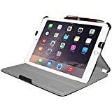 Best Amzer I Pad Air Cases - Amzer 97450 Shell Portfolio Case - Black Leather Review