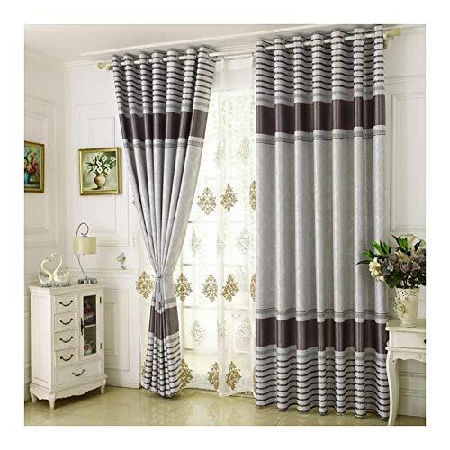 Wufeng-tendaggi addensare stile europeo soggiorno occhiello camera da letto full shading ombra isolamento, 4 colori più dimensioni può essere personalizzato