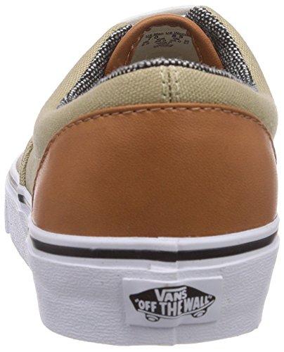 Vans Era, Sneaker Basse Unisex - Adulto Beige (light kha F7W)