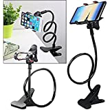 Lazy Mobile Stand Universal Flexible Long Arms Mobile Stand Phone Holder For Bed Desk Table Car Mobile Phone Holder Stand BLACK