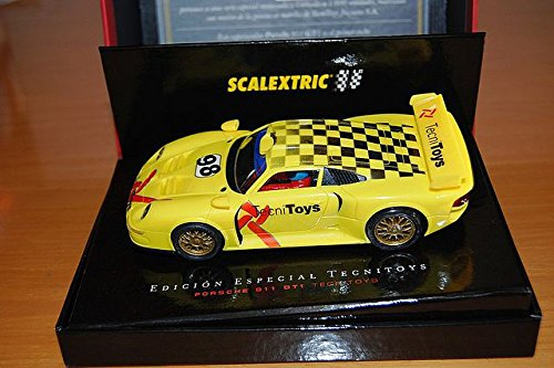 Coche Scalextric Porsche 911 GT1. 6018. Edicion conmemorativa