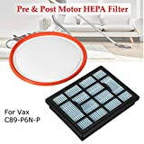 Branded SLB Works New Pre & Post H12 Motor HEPA Filter for Vax Power 6 C89-P6N-P Vacuum Cleaner Hoover