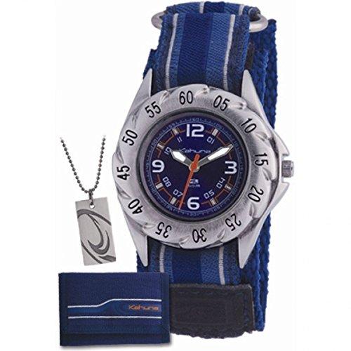 Kahuna AKKS-0001M–Wrist Watch, cloth Strap Blue Best Price and Cheapest