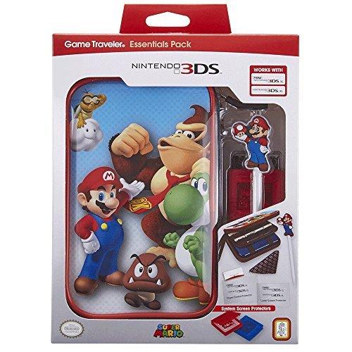 Official Essential Mario Pack - Set de accesorios oficial para nueva N