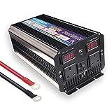 Yinleader car power inverter 3000W /6000W DC 12V to AC 230V 240V soft