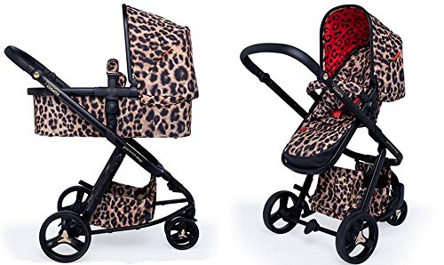 Cosatto Paloma Giggle 3 Travel Sytem Hear us Roar with Car Seat adaptors & Raincover Cosatto Includes - Pushchair, Carrycot, Port Car seat, adaptors and Raincover All round suspension Suitable from birth carrycot and Car seat 2