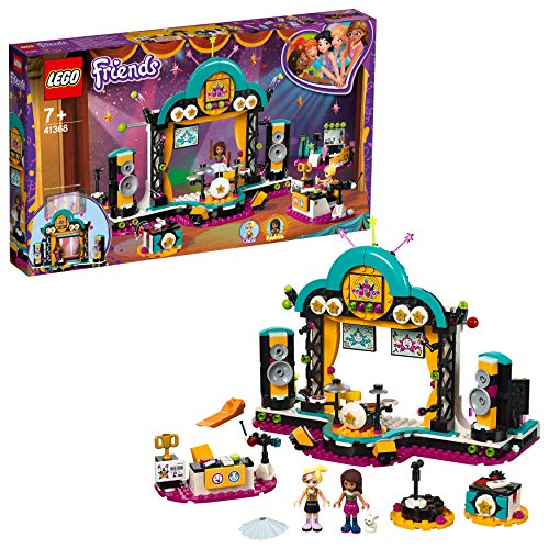 LEGO 41368 Friends Andrea's Talent Show Playset, Andrea and Chloe mini-dolls and Accessories, Build and Play Toys for Kids Best Price and Cheapest